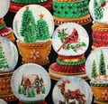 Timeless Treasures - HOLIDAY (Snow Globes)