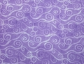 Wilmington Prints - SWIRLY SCROLL (Lavender)