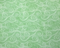 Wilmington Prints - SWIRLY SCROLL (Light Green)