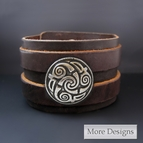 Celtic Spiral of Life Bracelet