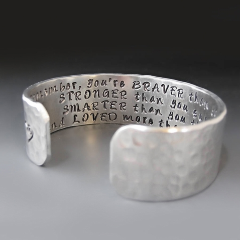 Christopher Robin / Winnie The Pooh Quote Bracelet