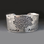 Silver Family Tree Bracelet {Children's Names}