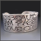 Silver Bracelets {Inspirational Quotes}
