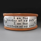 Men's Personalized Leather Buckle Bracelet