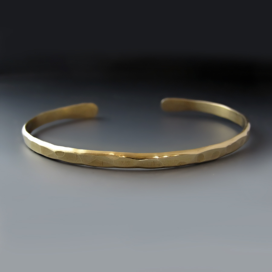 gold brass boyfriend cuff