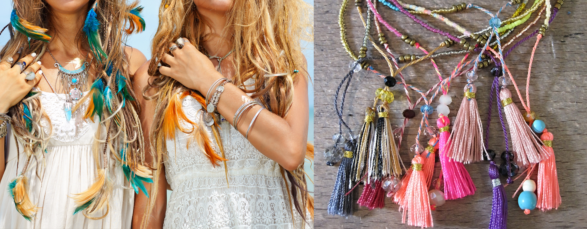 String of Jewels Bohemian Style