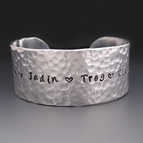 Silver Personalized Mother's Bracelet {Children's Names}