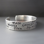Personalized Silver Mother's Bracelet {Children's Names}