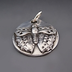 Sterling Silver Butterfly Charm  {Transformation}