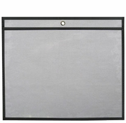 25 Job Jackets/Envelopes<br> 11x8.5 (Clear Front/Rigid Back)