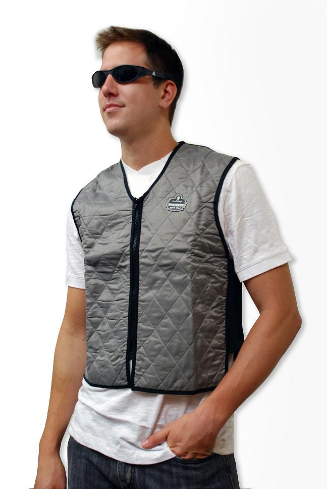 Evaporative Cooling Clothing : Ergodyne chill its evaporative cooling vest my store