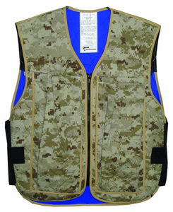 Hyperkewl Evaportative Cooling Vest Army Acu My Cooling