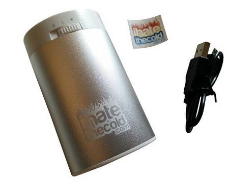 Ihatethecold Rechargeable Reusable Maxi Silver 8800mah Usb