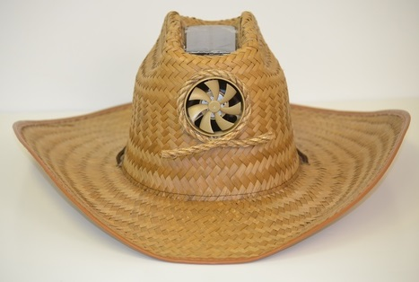 Kool Breeze Solar Fan Cowboy Hat - My Cooling Store d3abed797d4