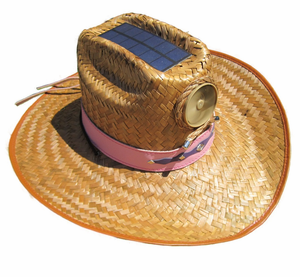 8658b6d1d17 Kool Breeze Cowgirl Hat with Solar Fan - My Cooling Store