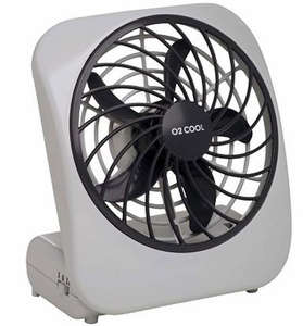 O2 Cool 5 Inch Battery Operated Portable Fan My Cooling