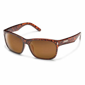76093ec453a Suncloud Injection Dashboard Tortoise Polarized Brown Sunglasses - My  Cooling Store