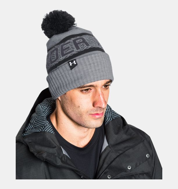 c3041aee0df Under Armour Men s UA Retro Pom 2.0 Beanie - My Cooling Store