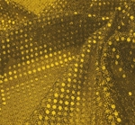 """3MM Baby Sequins on A/Knit Solid Yellow Width 41/42"""""""