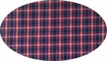 """Cotton Yarn Dyed Brushed or Flat Blue/Black/Red <br> Width 40/42"""""""