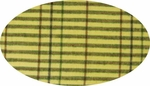 """Cotton Yarn Dyed Brushed or Flat Lime/Green/Brown <br> Width 40/42"""""""