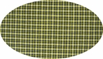 """Cotton Yarn Dyed Brushed or Flat Navy/Yellow <br> Width 40/42"""""""