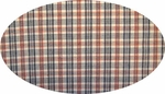 """Cotton Yarn Dyed Brushed or Flat Red/White/Navy <br> Width 40/42"""""""
