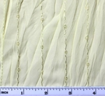 """Crinkled Chiffon w/Sequins Yellow Width 50"""""""