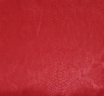 """Embossed Stretch Satin 0H123 Red Width 44/45"""""""