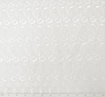 """Eyelet Embroidery 5K005 White wsclp Width 41/42"""""""