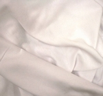 """Fleece One Side Brushed Solid White Width 58/60"""""""