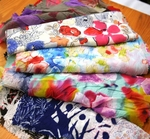 Flower Fabric Prints