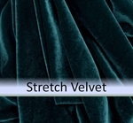 Stretch Velvet <br> Solid & Crushed