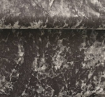 """Stretch Velvet Crushed Charcoal Width 58/60"""""""