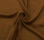 Suede Knit Solid Brown Width 58/60""