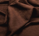 Suede Knit Solid Chocolate Width 58/60""