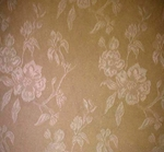 Suede Poly Jacquard Solid Taupe Width 58/60