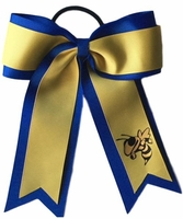 Yellow Jacket on Royal Blue and Yellow Gold