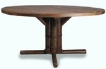 """Old Hickory 42"""" Pedestal Table"""