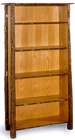 """Old Hickory 72"""" Classic Bookcase"""