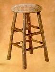 Old Hickory #956 Swivel Bar Stool