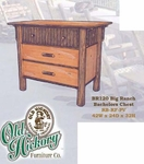 Old Hickory Big Ranch Bachelors Chest
