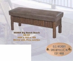 Old Hickory Big Ranch Bench