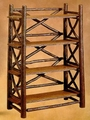 Old Hickory Big Ranch Bookcase