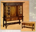 Old Hickory Big Ranch China Hutch & Buffet