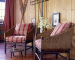 Chairs & Ottomans by Old Hickory