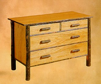 Old Hickory Classic 4-Drawer Chest