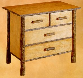 Old Hickory Classic Bachelor Chest/Nightstand