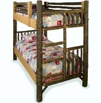 Old Hickory Classic Twin Bunk Bed