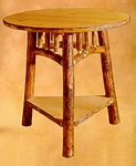 Old Hickory Cricket Table